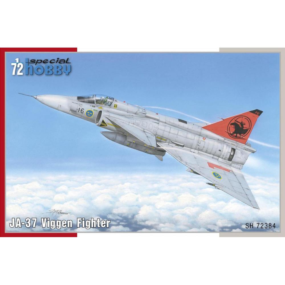 JA-37 Viggen Fighter 1/72 Special Hobby 72384