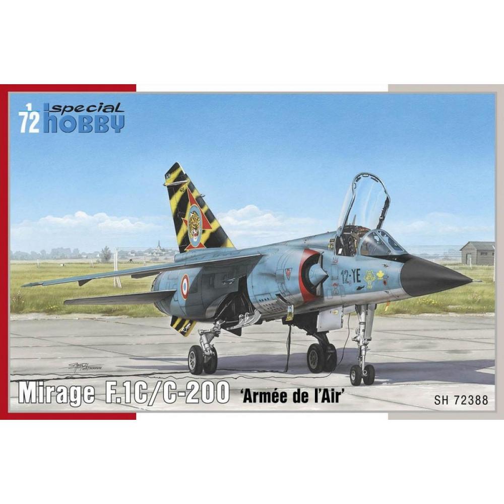 Mirage F.1C/ C-200 'Armée de `l Air'   1/72 Special Hobby 72388