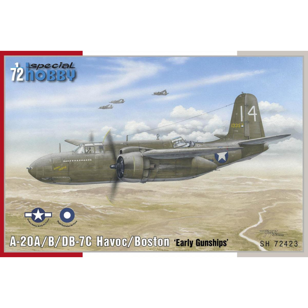 A-20B/C Havoc 'Gunships' 1/72 Special Hobby 72423