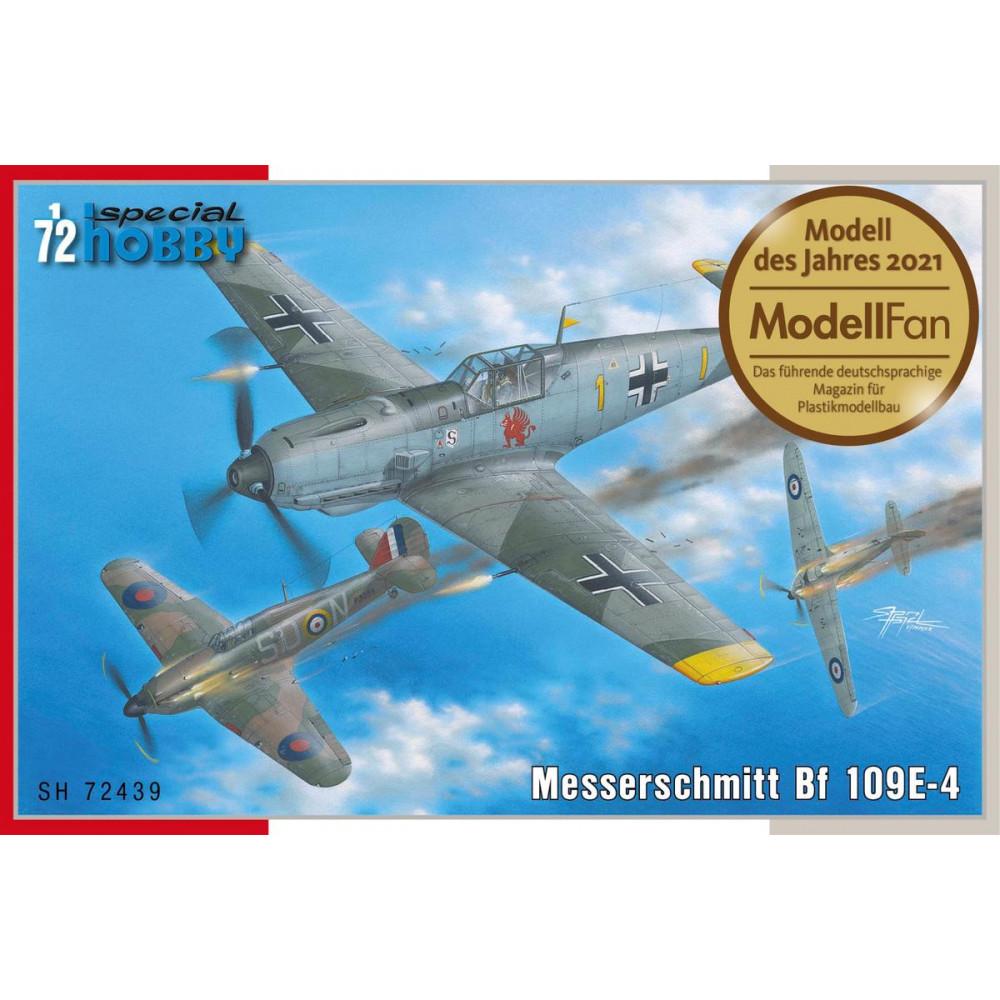 Messerschmitt Bf 109E-4 1/72 Special Hobby 72439