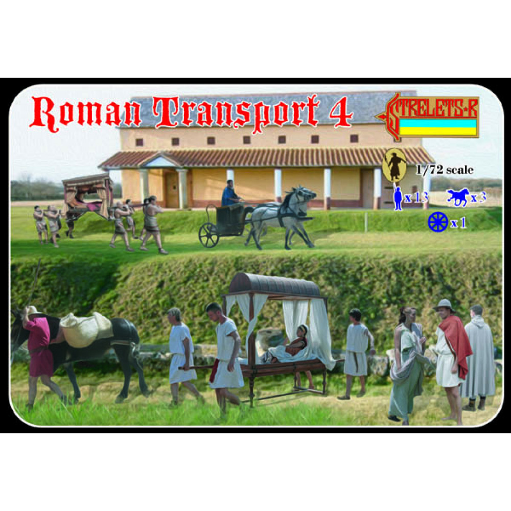 Roman Transport 4  1/72 STR 132