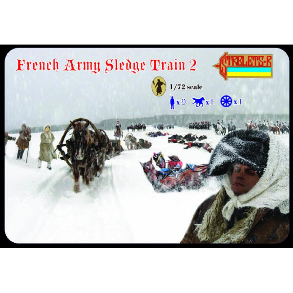 French Army Sledge Train 2 1/72 STR 134