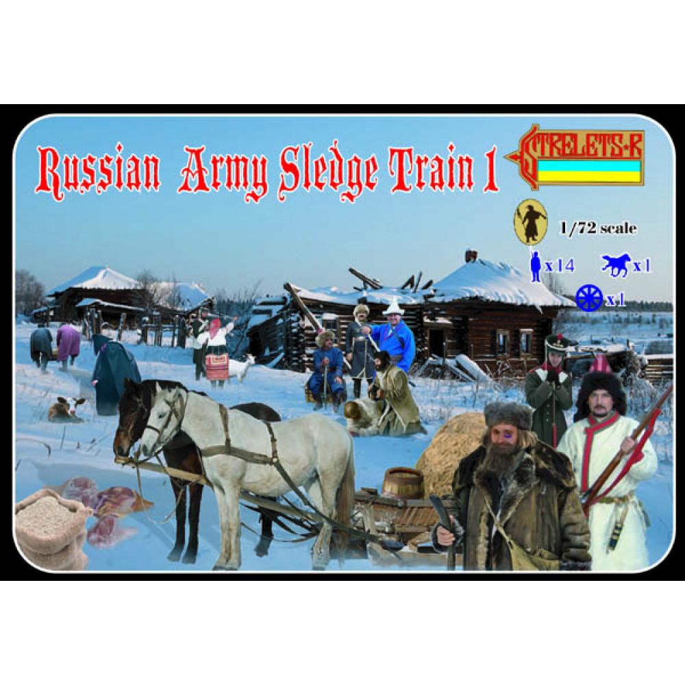Russian Army Slegde Train 1 1/72 STR 135