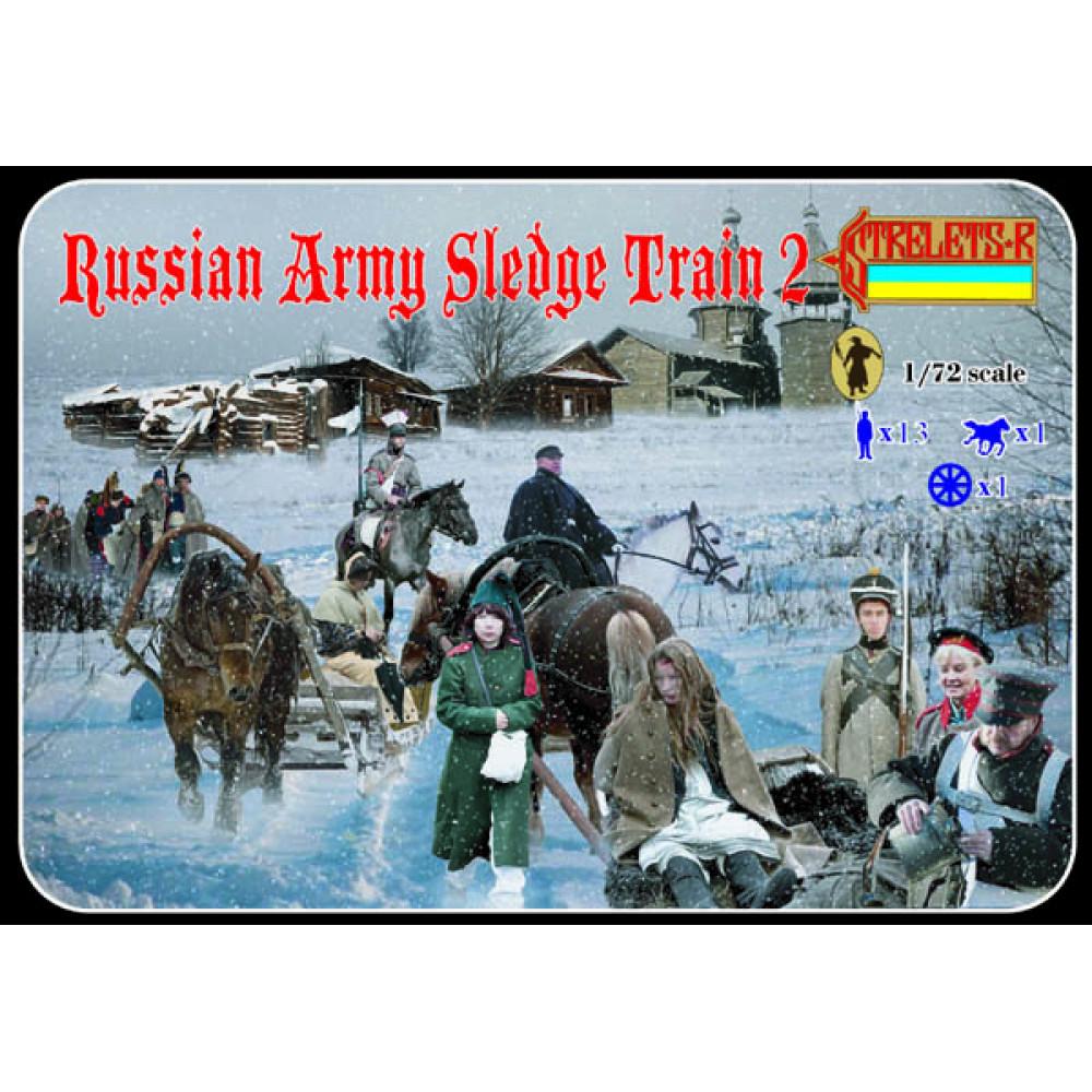 Russian Army Slegde Train 2 1/72 STR 136