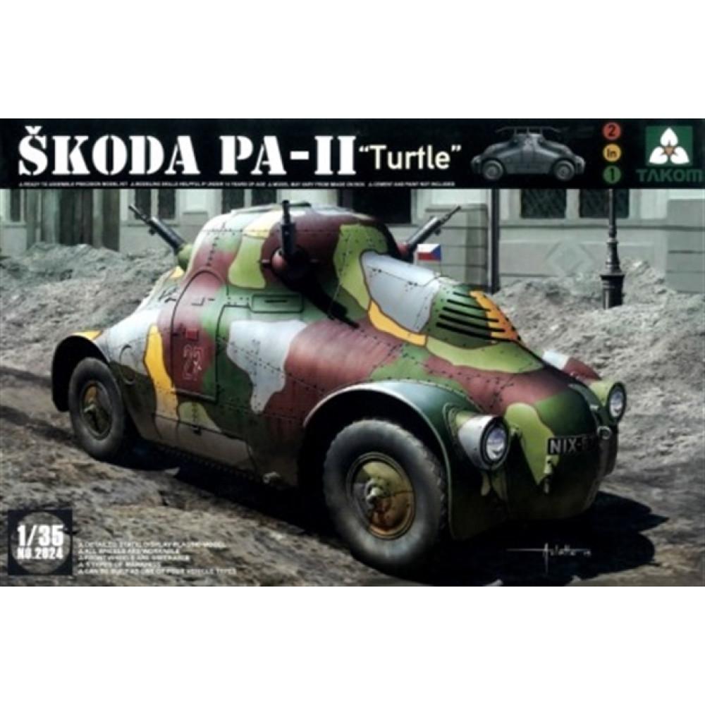 Skoda PA-II ( Turtle )  1/35 Takom 2024