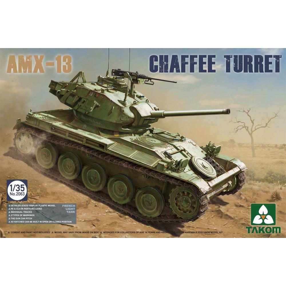 AMX-13 Chaffee Turret  1/35 Takom 2063