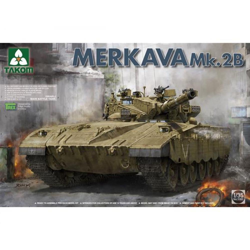 Israeli MBT Merkava Mk.2b  1/35 Takom 2080