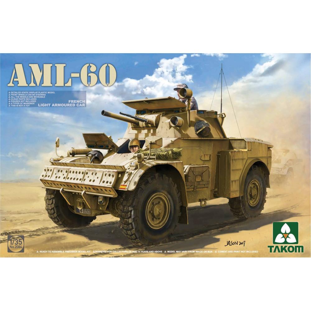French Light Armored Car AML-60  1/35 Takom 2084
