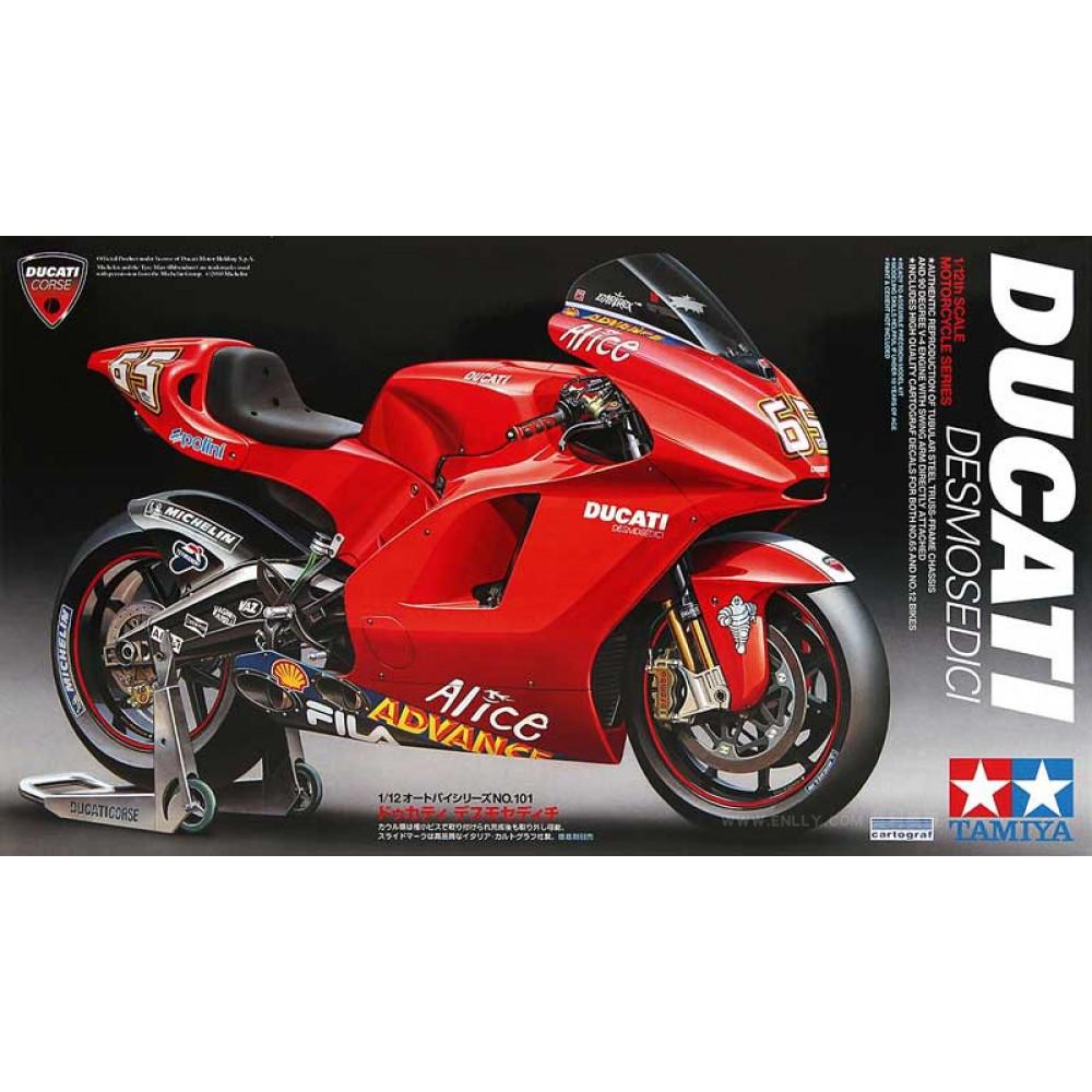 Ducati Desmosedici 1/12  Tamiya  14101