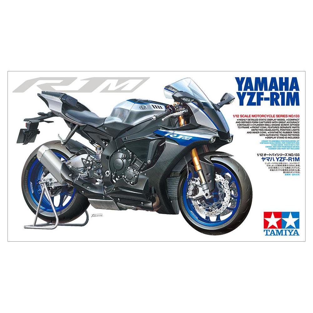 Yamaha Yzf-R1M 1/12  Tamiya  14133