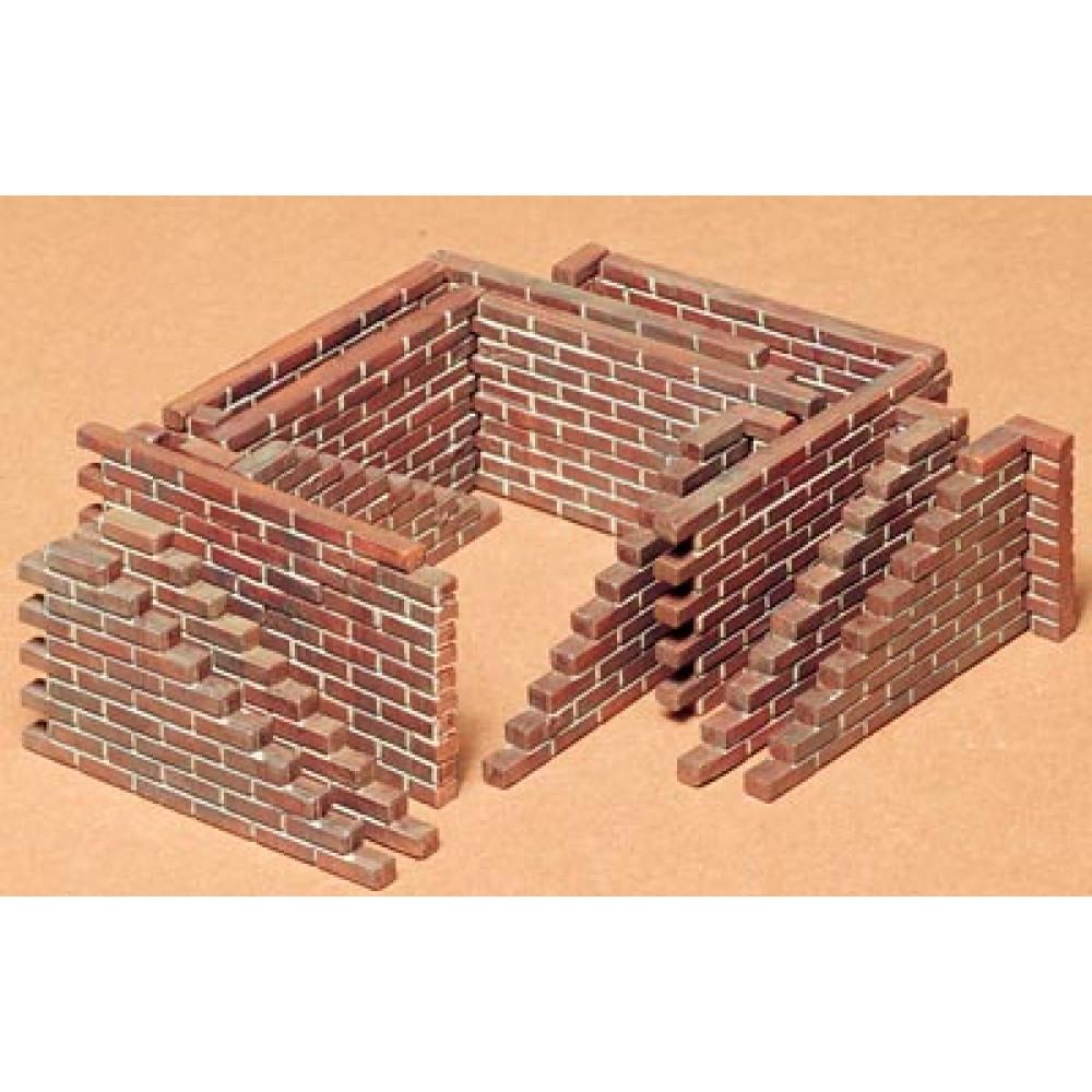 Brick Wall Set 1/35 Tamiya 35028