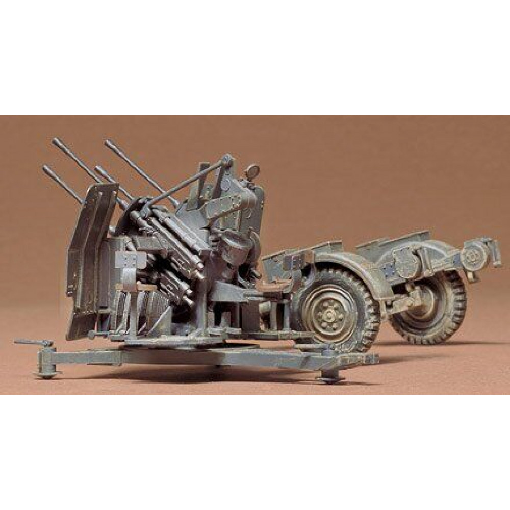 German 2cm Flackvierling 38 1/35 Tamiya  35091
