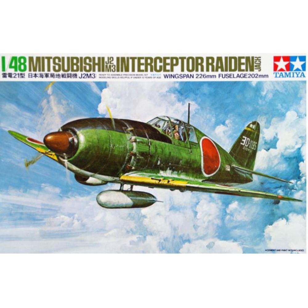 Mitsubishi J2M3 Interceptor Raiden (Jack) 1/48 Tamiya 61018