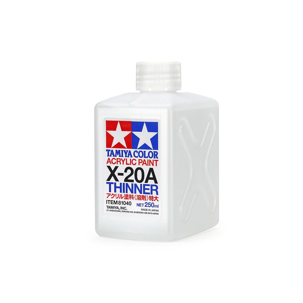 Acrylic X-20A Thinner  250 ml - Tamiya 81040