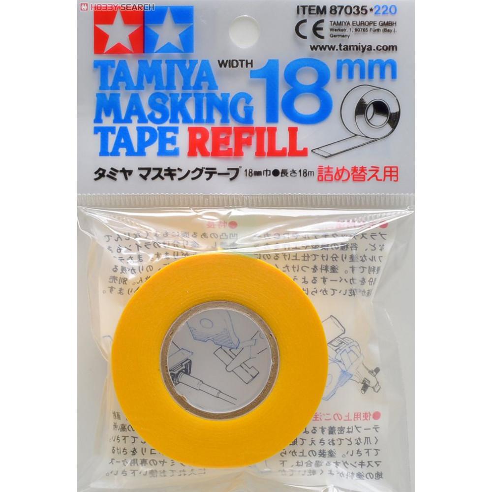 Masking Tape - Masks 18mm  Tamiya 87035