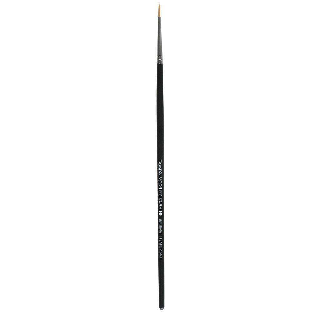 Round brush, fine grade High Finish (synthetic fiber) Tamiya 87049