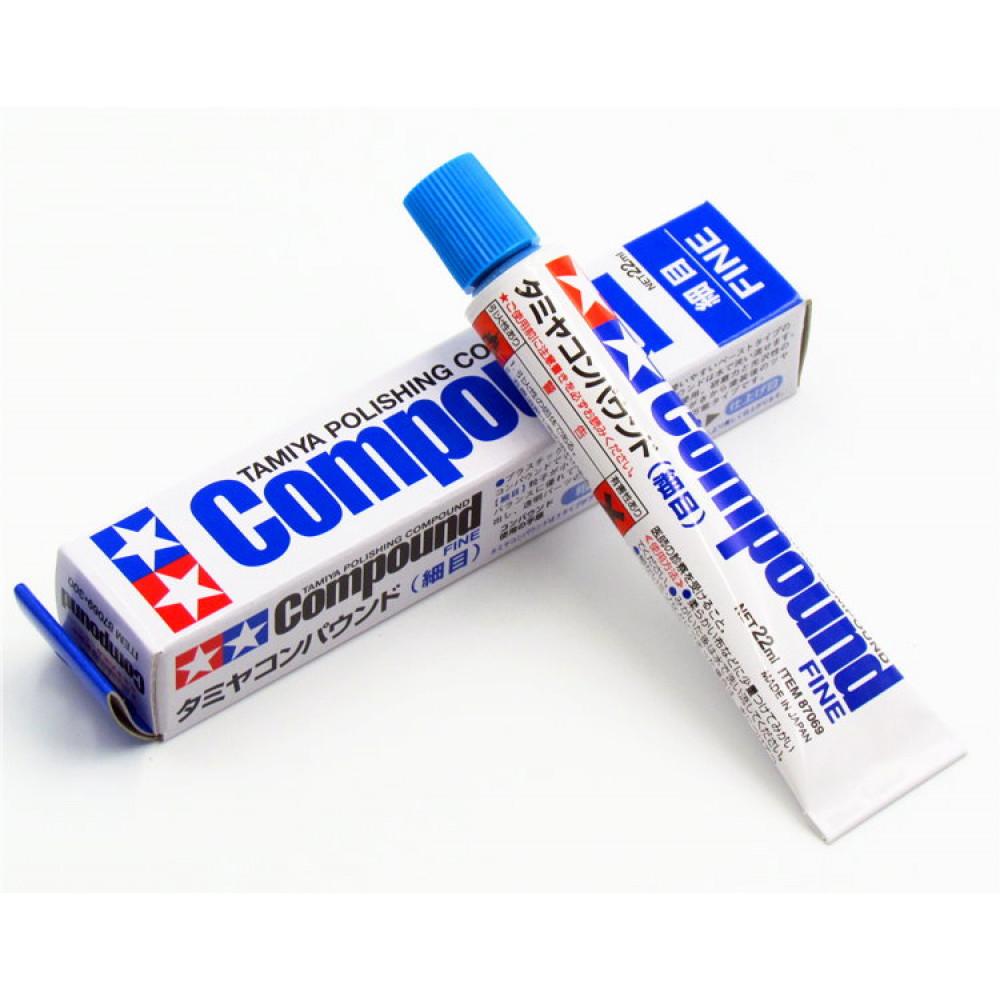 Polishing Compound (Fine) 22g Tamiya 87069