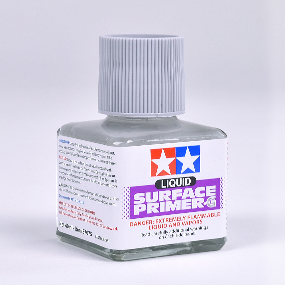 Liquid Surface Primer Gray Tamiya  87075
