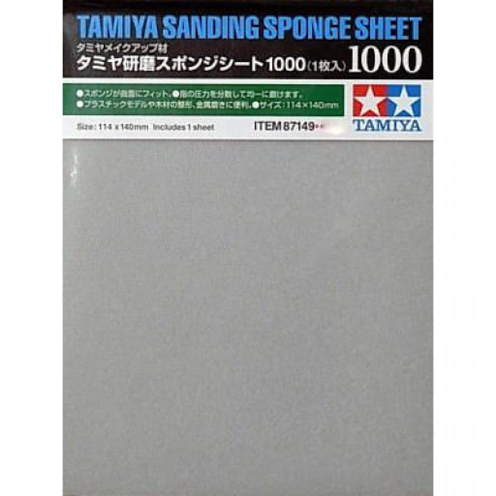 Sanding sponge sheet 1000 Tamiya 87149