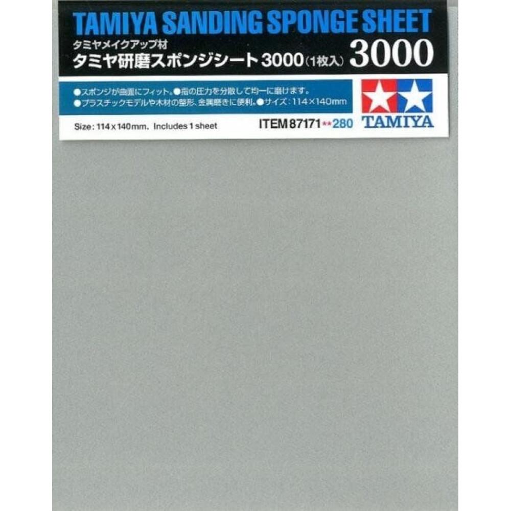 Sanding sponge sheet 3000 Tamiya 87171