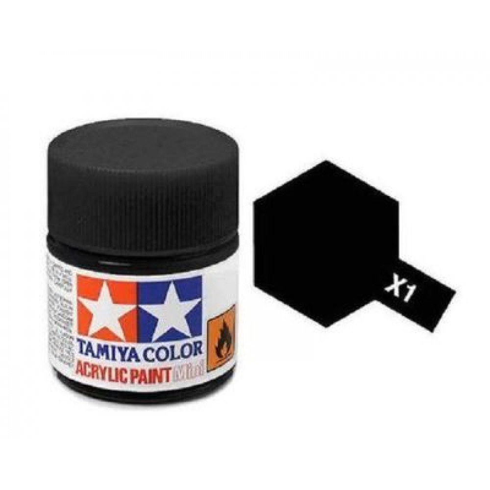 X-1 - Black (gloss) Tamiya 10 ml