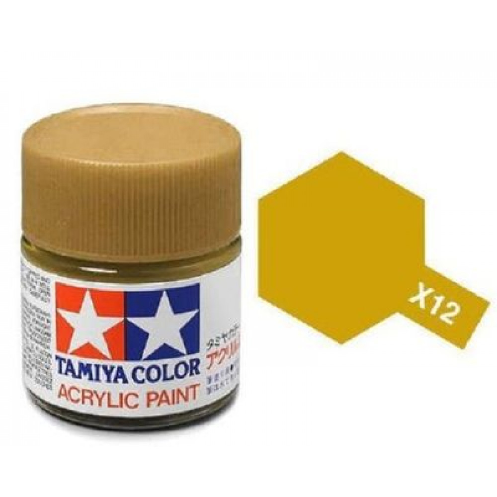 X-12 - Gold leaf (gloss) Tamiya 10 ml