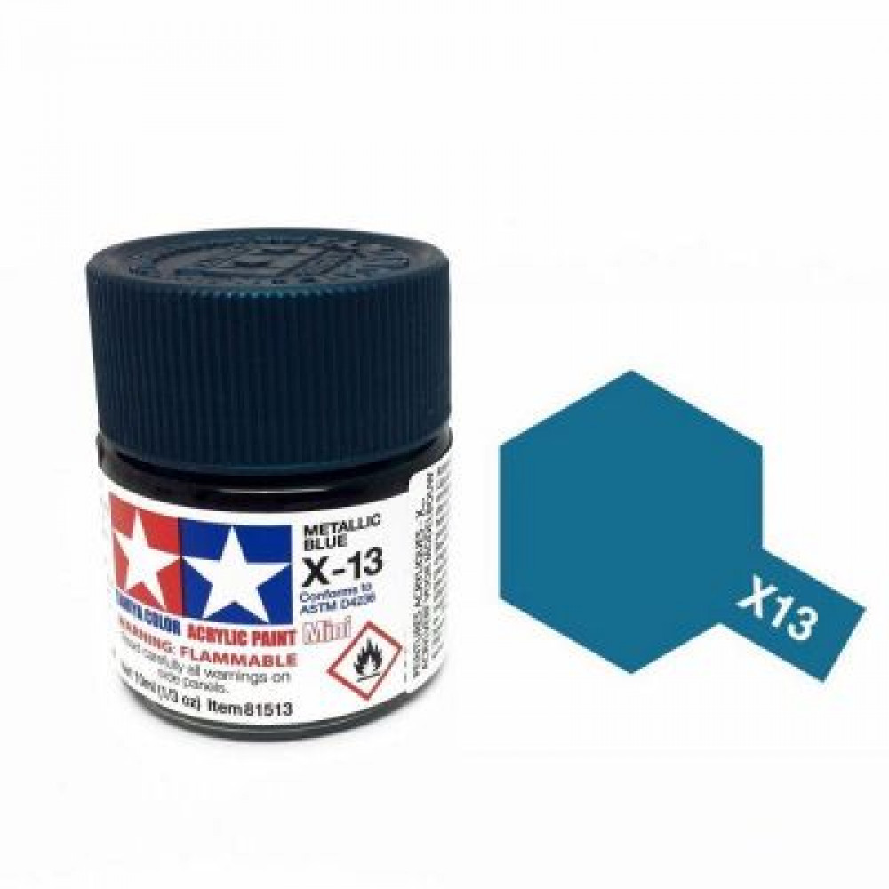 X-13 - Metallic blue (gloss) Tamiya 10 ml