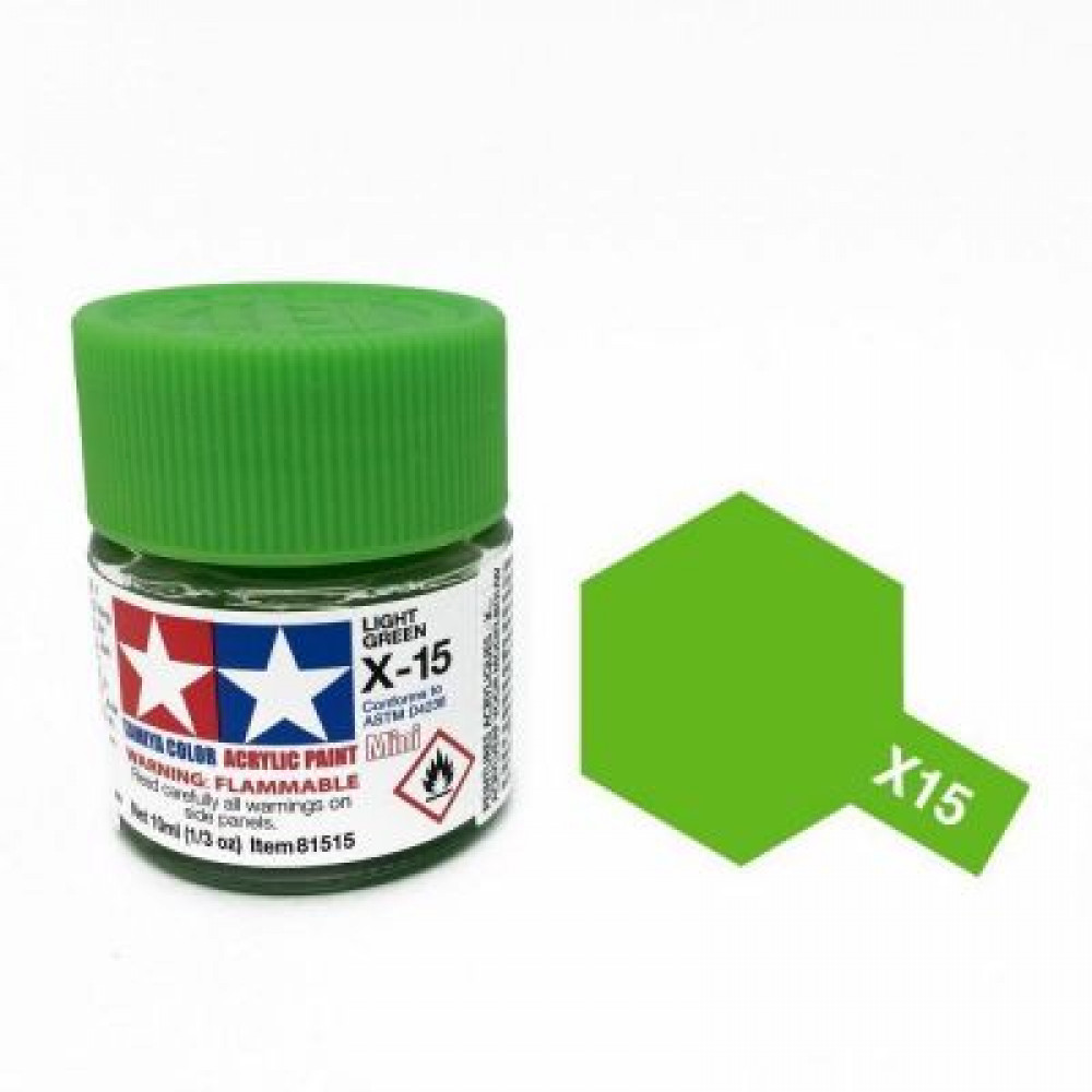 X-15 - Light green (gloss) Tamiya 10 ml