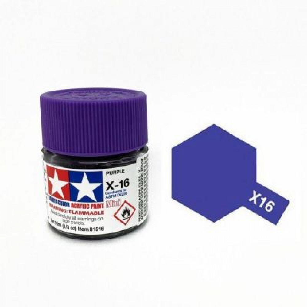 X-16 - Purple (gloss) Tamiya 10 ml