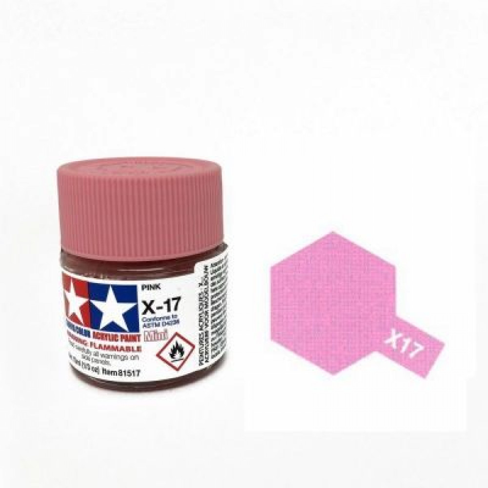 X-17 - Pink (gloss) Tamiya 10 ml