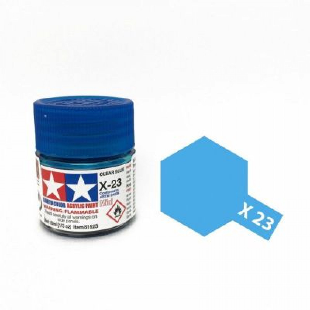 X-23 - Clear blue (gloss) Tamiya 10 ml