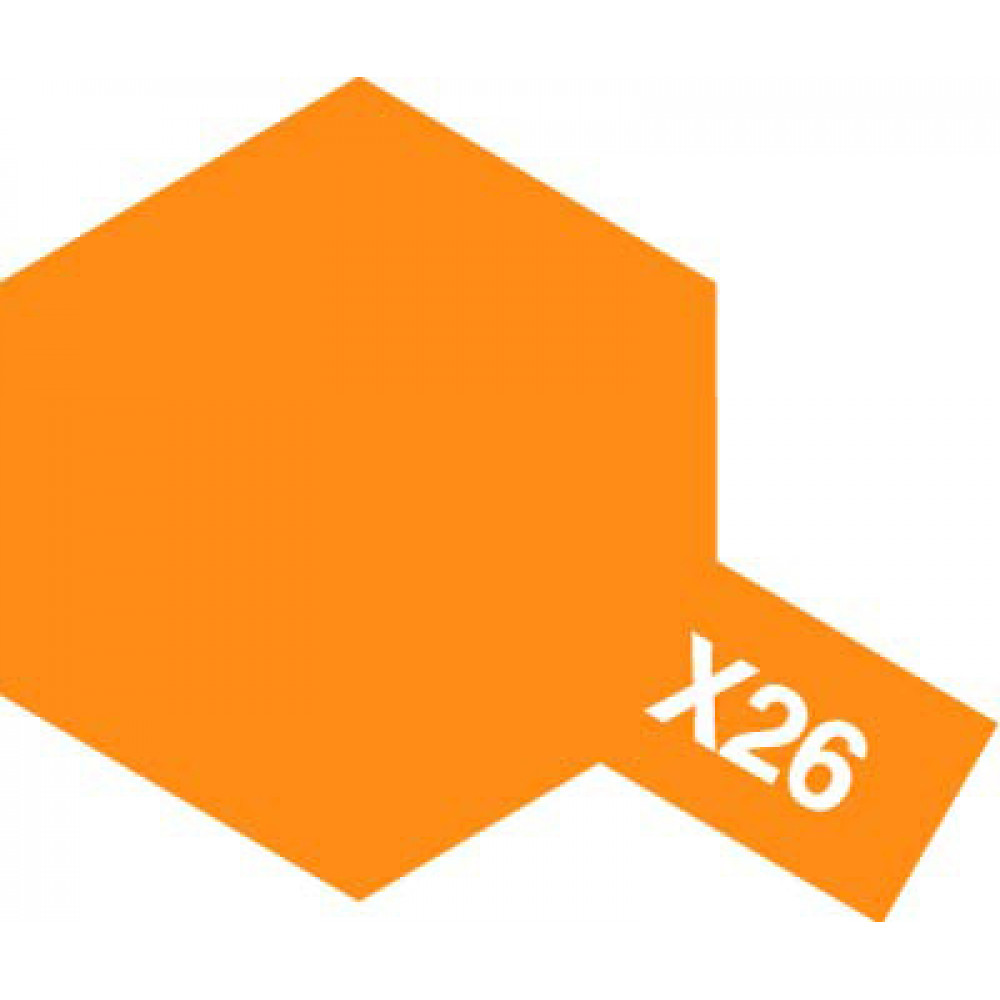 X-26 - Clear orange (gloss) Tamiya 10 ml