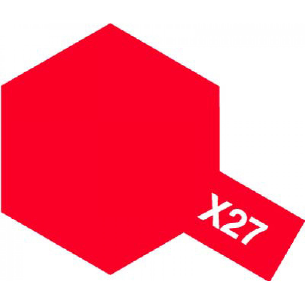 X-27 - Clear red (gloss) Tamiya 10 ml