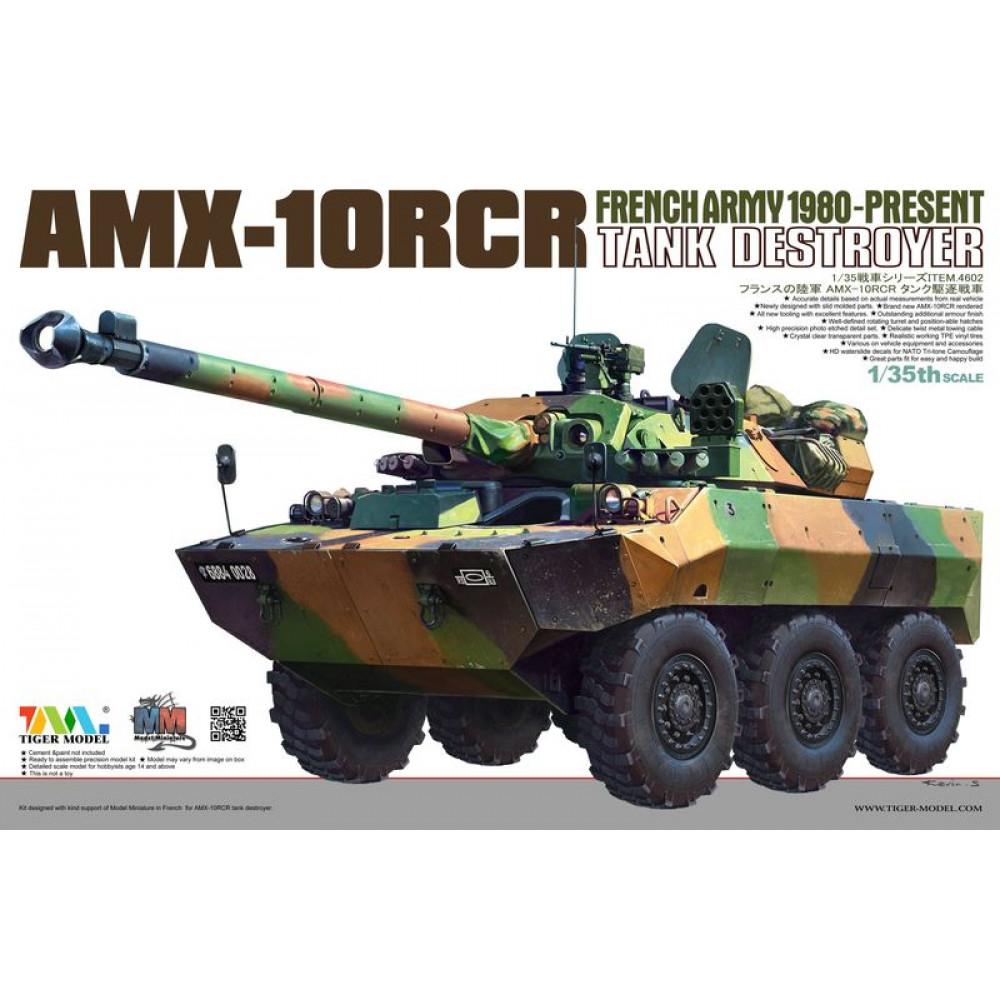 Tank destroyer AMX-10RCR 1/35 Tiger Model 4602