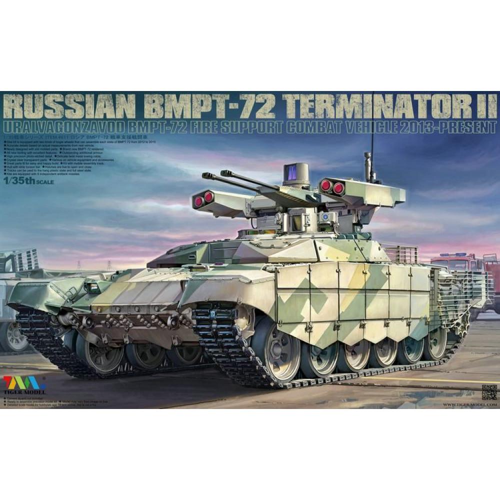 Russian BMPT-72 TERMINATOR II 1/35 Tiger Model  4611