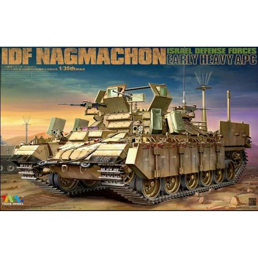 IDF Israel Defense Forces Nagmachon early Heavy APC 1/35 Tiger Model  4615