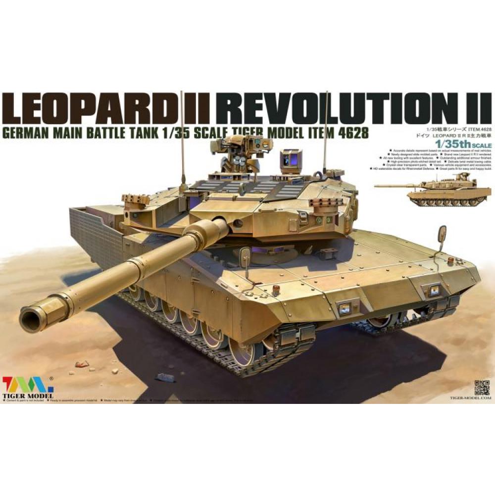 Leopard II Revolution II German MBT 1/35 Tiger Model 4628