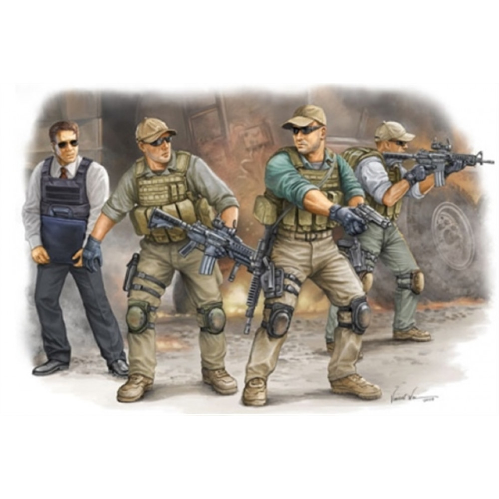 PMC in Iraq 2005 VIP Protection  1/35 Trumpeter  00420