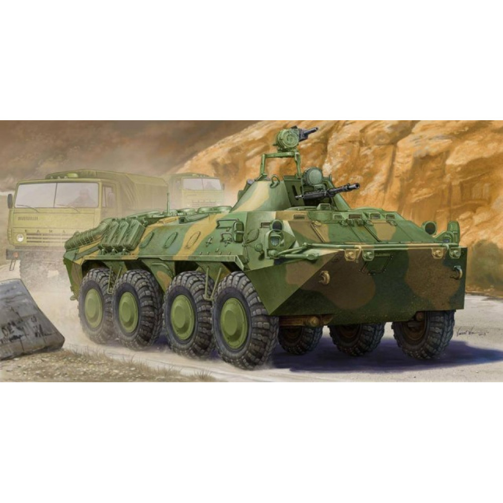 Russian BTR-70 APC in Afghanistan  1/35 Trumpeter 01593
