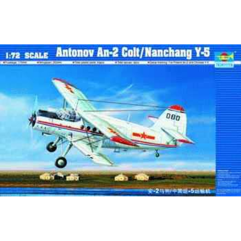 Antonov An-2 Colt / Chinese Y-5  1/72 Trumpeter 01602
