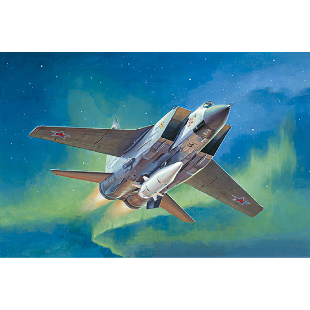 Aircraft MiG-31BM. with KH-47M2 1/72 Trumpeter 01697