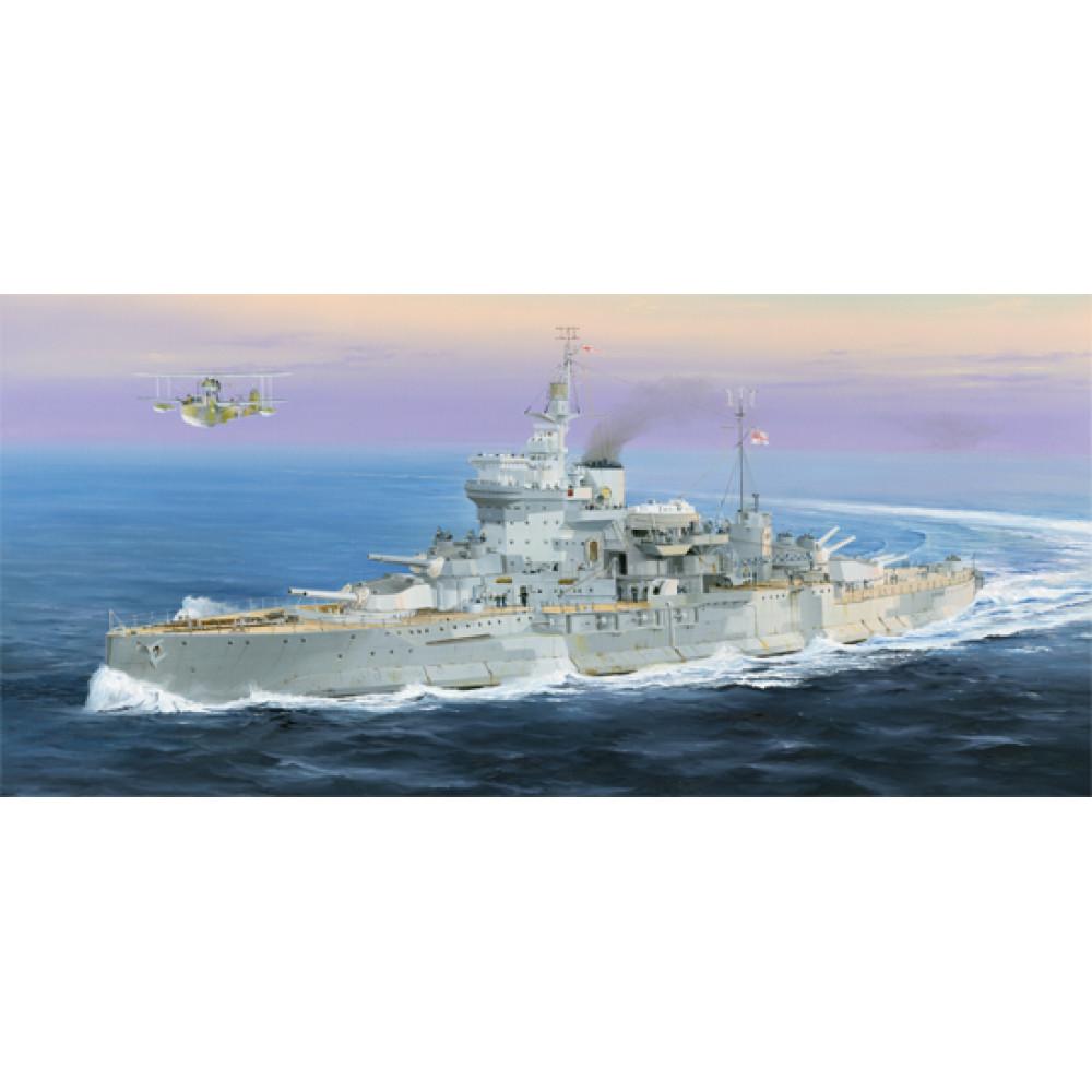 Battleship HMS Warspite 1942 1/350 Trumpeter 05325