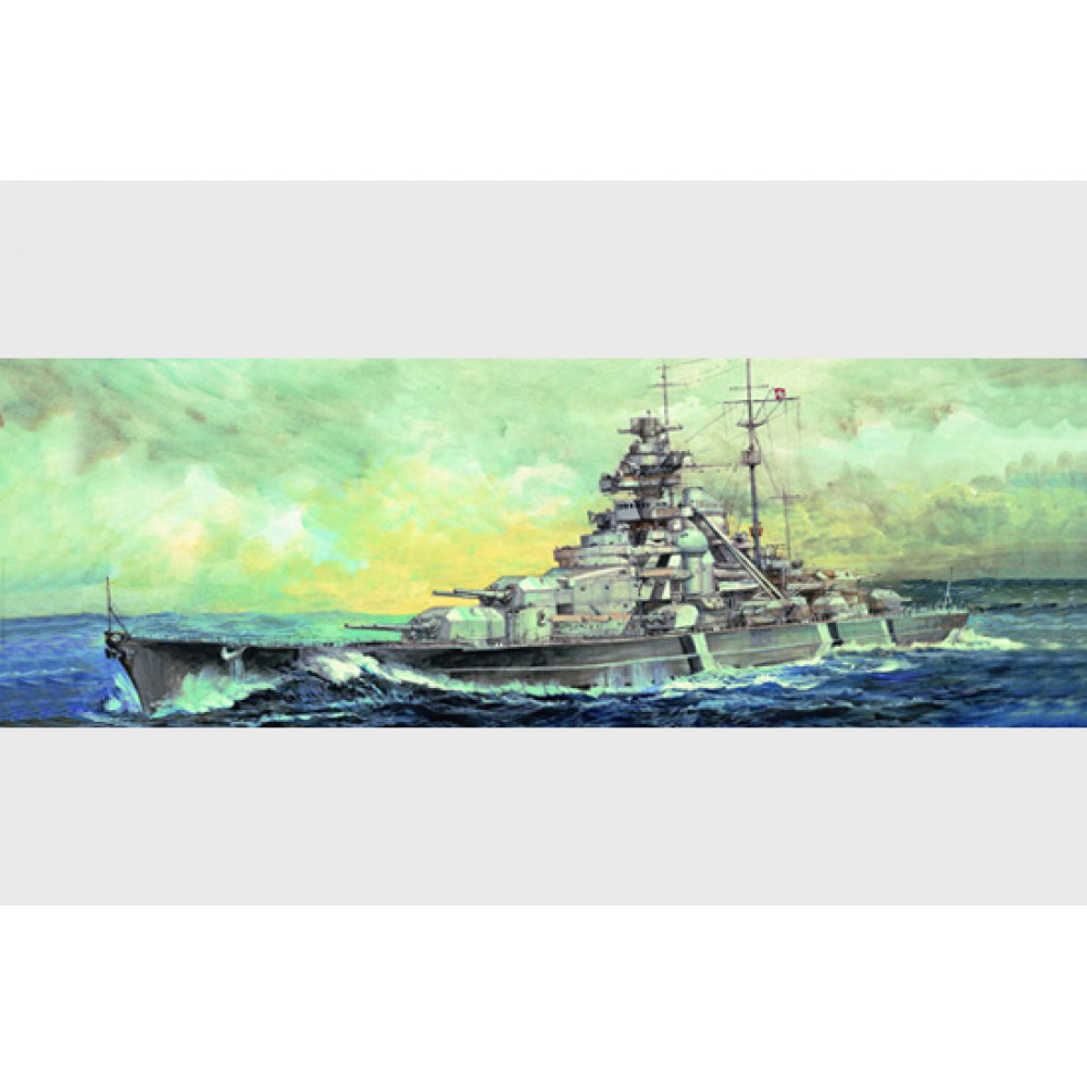 Germany Battleship Bismarck 1941 1/700 Trumpeter  05711