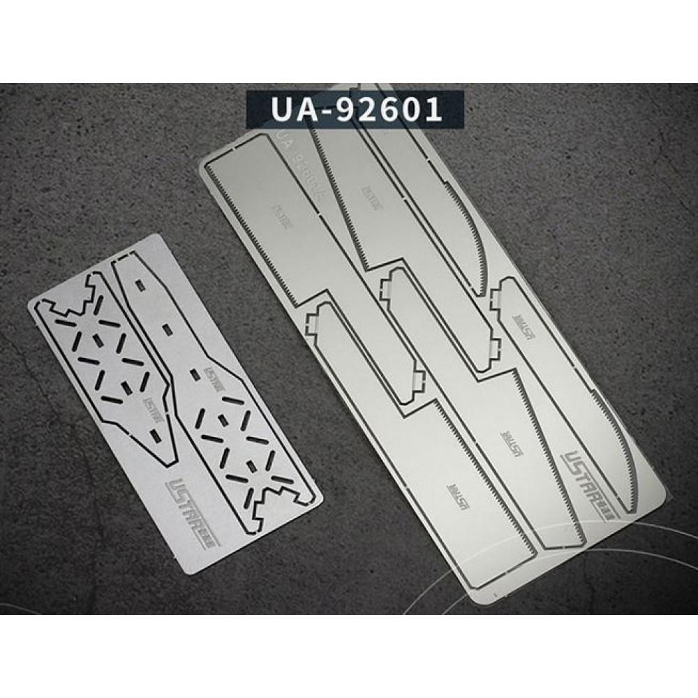 Set of ultrathin nail files (0.15 MM) USTAR