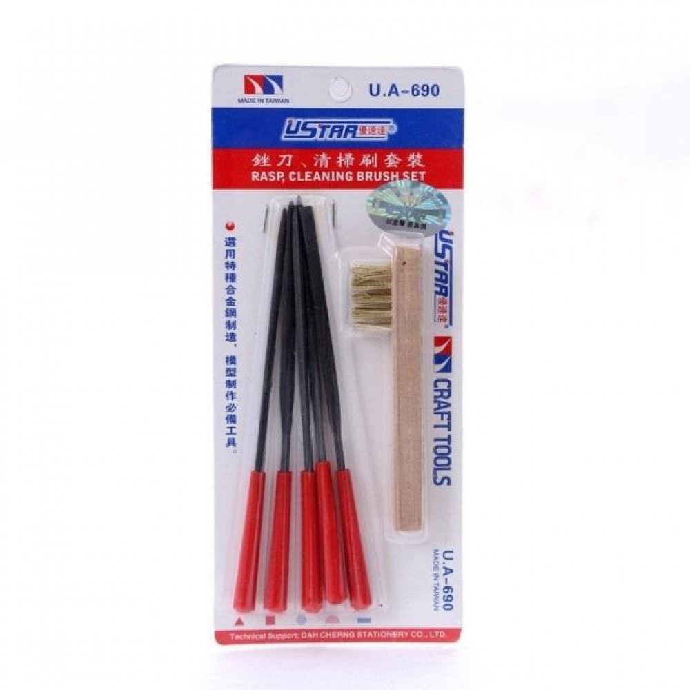 File Kit 6 In 1U-STAR Model Tools UA 690