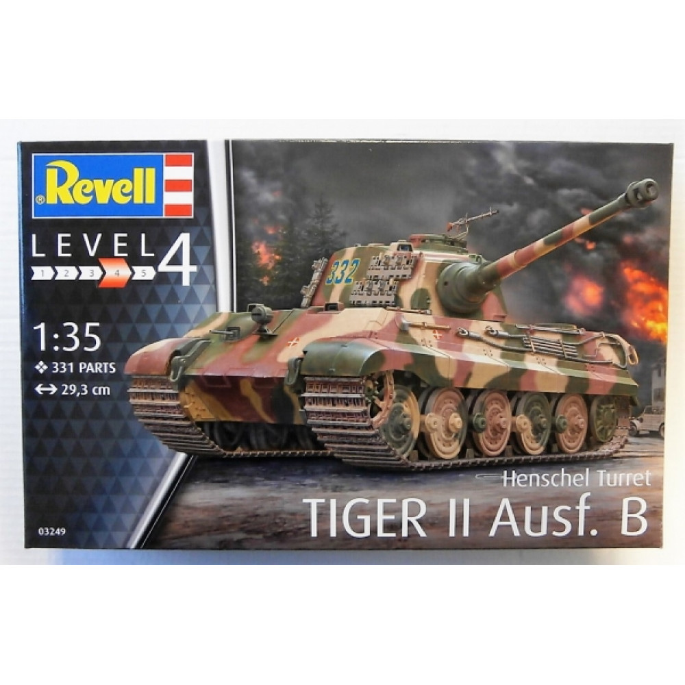 Henschel Turret Tiger II 1/35 Revell   03249
