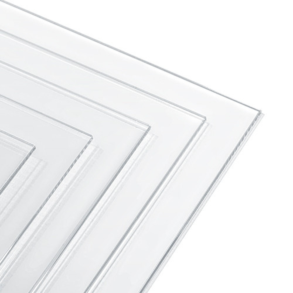 PVC sheet diaphanous  size 20 * 30 cm, thinckness 0,5 mm Stendmodels pol05