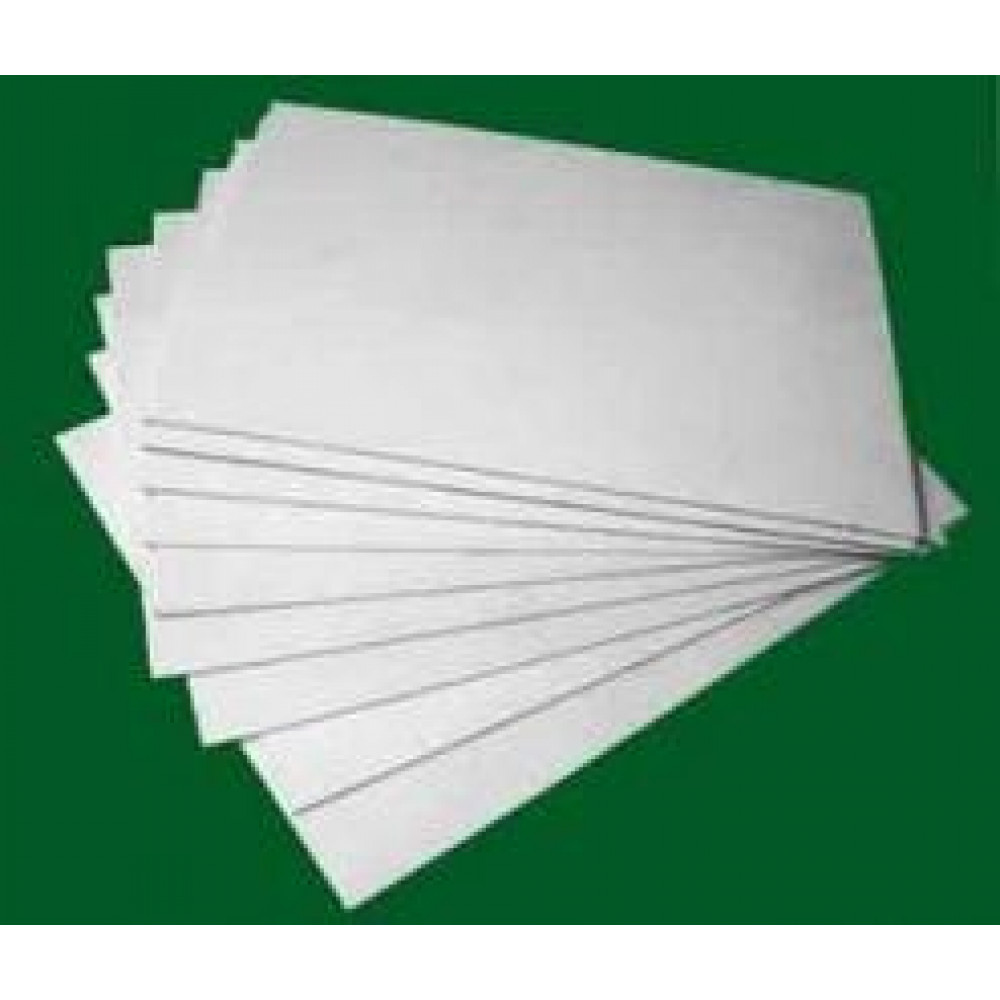 Polystyrene sheet white  size 20 * 30 cm, thinckness 0,75 mm Stendmodels wpol075