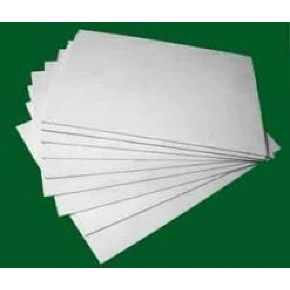 Polystyrene sheet white  size 20 * 30 cm, thinckness 1,5 mm Stendmodels wpol15