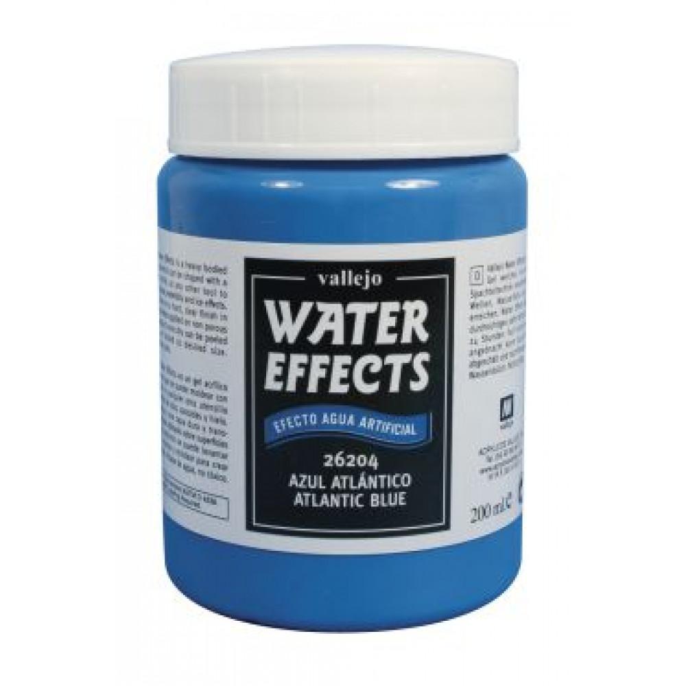 Atlantic Blue Water Texture   Vallejo 26204